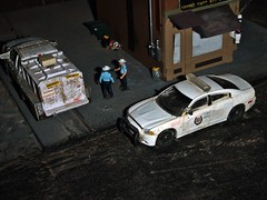 Sheriff's log 4-25-2019 (THE RANGE PRODUCTIONS) Tags: dodgechargerpursuit fordf150 greenlight 164scale dioramas diecast diecastdioramas hoscalefigures display model toy modular