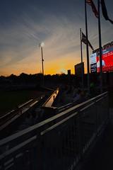 2442263649 (jalexartis) Tags: fayetteville fayettevillenc fayettevillenorthcarolina downtown downtownfayetteville segra segrastadium stadium baseball ballpark inaugralseason inaugral sunset lighting