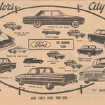 1963 Ford Range Including XL Falcon Newspaper Ad - Australia thumbnail