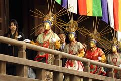 Nerikuyo  ---Walking statues--- (Teruhide Tomori) Tags: 二十五菩薩練供養 面 菩薩面 浄土宗 知恩寺 百万遍 京都 仏教 日本 伝統行事 祭 浄土信仰 極楽浄土 文化 伝統 年中行事 kyoto japan japon temple culture festival event mask parade hyakumanben chionji 25bosatsunerikuyofestival