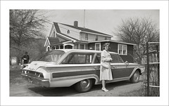 Vehicle Collection (9433) - Ford Country Squire (Steve Given) Tags: familycar motorvehicle automobile ford countrysquire 1960s