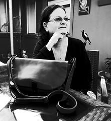L (stephen trinder) Tags: stephentrinder stephentrinderphotography aotearoa godzone kiwi christchurch christchurchnewzealand woman female monochrome blackandwhite portrait