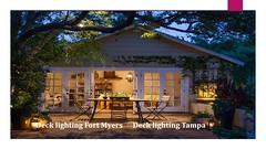 Deck lighting (lanailights5) Tags: deck lighting fort myers decklightingtampa