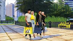 Alexander &  Olivia - David &  Natalie (***Mila Smith***) Tags: ts4 sims4 thesims4 sims4couple fashion style shopper bag