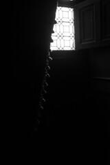 Noir (cactus2016) Tags: contrejour blackandwhite noiretblanc rideaux minimalisme minimalism windows black noir