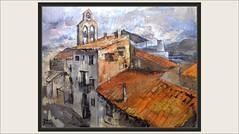 ASCÓ-PINTURA-PANORAMICA-ESGLESIA-PARROQUIAL-CENTRAL NUCLEAR-TEULADES-RIU-EBRE-PAISATGES-RIBERA D'EBRE-TARRAGONA-CATALUNYA-PINTURES-PINTOR-ERNEST DESCALS (Ernest Descals) Tags: ascó panoramica panoramicas panoramiques esglesia iglesia campanario pueblo village poble pobles pueblos comarca comarcas riberadebre rio riu ebro ebre centralnuclear paisatge paisatges paisajes paisaje landscape landscaping paint pictures tejados casas cielo nubes humo fum art arte artwork global globales pintar viajar pintando pintant pinturas pintura pintures quadres cuadros painter painters tarragona catalunya sur cataluña catalonia paintings painting pintors pintor pintores plastica ernestdescals paisajistas artistes catalans artistas plasticos