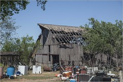 """A Real """"Old Okie"""" Barn (A Anderson Photography, over 3.4 million views) Tags: junk barn canon trash"""
