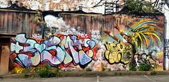 Grafitti / Mural / Street Art, Custard Factory, Digbeth. (Manoo Mistry) Tags: birmingham birminghampostandmail englanduk westmidlands nikon nikond5500 tamron tamron18270mmzoomlens graffiti streetart mural spraypaint