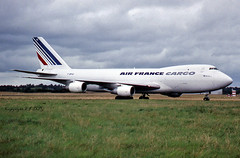 Boeing 747-228F F-BPVZ Air France Cargo (EI-DTG) Tags: boeing747 b747 jumbojet queenoftheskies airfrance 22jul1987 shannonairport einn freighter fbpvz