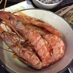 jkb006prawns (invisiblecompany) Tags: 2019 hongkong food restaurant buffet japanese seafood prawn