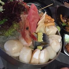 jkb002sashimi (invisiblecompany) Tags: 2019 hongkong food restaurant buffet japanese fish sashimi