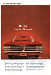 1964 Pontiac Bonneville & Tempest Convertible Page 2 USA Original Magazine Advertisement (Darren Marlow) Tags:
