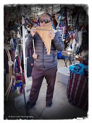 Playing the Flute (Kool Cats Photography over 12 Million Views) Tags: heardonhurd festival music flute inca event entertainment ricohgrii oklahoma outdoor streetphotography street musicalinstrument