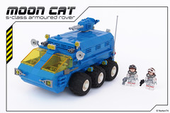 Moon Cat | S-Class Armoured Rover