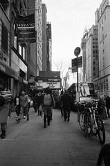 NYC - February 2019 (Steph Mangan) Tags: mjuii mju olympus 35mm newyork film ii kentmere kentmere400
