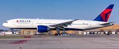 MSP N707DN (Moments In Flight) Tags: minneapolisstpaulinternationalairport msp kmsp mspairport dal9958 n707dn delta deltaairlines boeing 777 777200lr 777232lr b77l nrtmsp rjaakmsp aviation airplane avgeek airliner