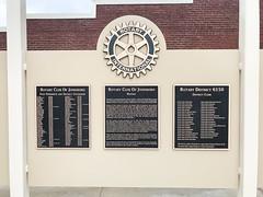 IMG_2412 (Sam W. Hummelstein) Tags: 2019 25 april bailey centennial contractors instruments jerry jonesboro musical plaques plaza rotary brackett mural