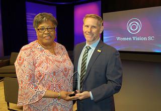Recipient - Pastor Nannie Jefferies by South Carolina ETV