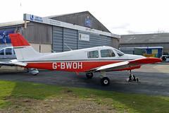 G-BWOH   Piper PA-28-161 Cadet [2841061] Staverton~G 13/03/2013 (raybarber2) Tags: 2841061 airportdata cn2841061 egbj filed flickr gbwoh planebase raybarber single ukcivil