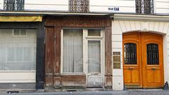 Paris XIVe - France (Mic V.) Tags: cobbler cordonnier shoemaker cordwainer shop store workshop magasin cordonnerie devanture ghost sign window door paris xiv 14 france