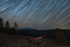 Best time ever! (Piotr Potepa) Tags: startrails startrail nightscape nightscapes night nightsky bieszczady poland