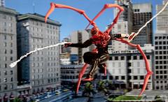 s-spiderman (vampyre_angel13) Tags: spiderman superiorspiderman marvellegends marvelcomics actionfigure actionfigurecustom toyphotography toys toy doctoroctopus ottooctavius