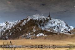 Upside Down (iLaura_) Tags: upsidedown reflection riflessi mountain montagna montetamaro svizzera switzerland cantoneticino