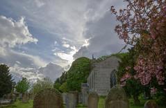 WettonChurch (Tony Tooth) Tags: nikon d600 tamron 2470mm church churchyard hdr sky cloud april blossom wetton staffs staffordshire evening england