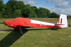 G-BUDC   (ZA652) Slingsby T.61F Venture [1971] Enstone~G 09/07/2004 (raybarber2) Tags: airportdata egtn filed flickr gbudc johnboardleycollection motorglider planebase ukcivil warbird za652