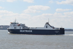 Liverpool (DarloRich2009) Tags: msclipperpoint seatruck seatruckclipperpoint seatruckferries ferry mersey merseyside rivermersey liverpool cityofliverpool