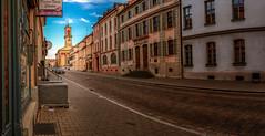 Karls Nails (M-Z-Photo) Tags: ansbach bayern deutschland street strase stadt abendstimmung hdr kirche architektur gebäude germany franken mittefranken