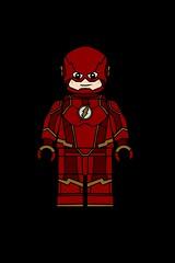 DC Figs #7: Flash I (Barry Allen) (biggusbrickus) Tags: 7