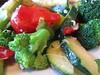 Mixed vegetables (annesstuff) Tags: annesstuff eastsidemarios italian food vegetables greenpepper broccoli zucchini redpepper