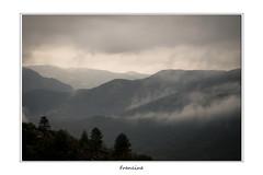 DSC_2484 (Francinen89) Tags: brumes fog hautlanguedoc sud south france mist nature montagne mountain orage