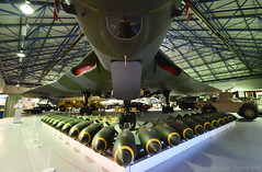 Avro Vulcan B2 (XL318) and Bombs (Bri_J) Tags: rafmuseum hendon london uk museum airmuseum aviationmuseum nikon d7500 aircraft avrovulcan b2 avro vulcan jet bomber bombs nuclearbomber coldwar raf xl318 617sqn