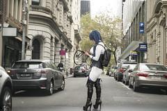 X Week 14 (DarrenNunis) Tags: ashotaweekyearx sonyalpha a99ii 85mmf14 hdr guygowan bokeh melbourne cosplay crossing street