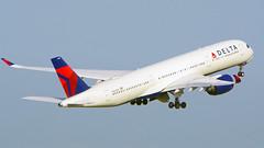 Airbus A350-941, N504DN, Delta Air Lines (tkosada.mac) Tags: deltaairlines skyteam airbus a359 tokyointernationalairport hanedaairport hnd rjtt