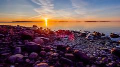 Sunrise I, Skatanniemi, East-Helsinki ☀️☀️ (Esa Suomaa) Tags: helsinki suomi finland sunrise coast suomenlahti planetearth spring scandinavia landscape beach olympusomd