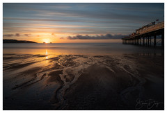 An April sunrise over Paignton seafront in Devon (simondayuk) Tags: paignton devon torbay sunrise coast coastal longexposure pier seafront sea ocean sand water sun clouds englishriviera dawn reflections bluesky seascape photography beach beachlife sony a9 sonya9