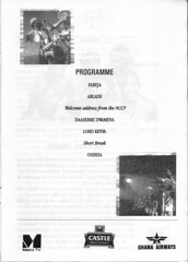 IMG_0002 Osibisa Farewell Tour The National Theatre Accra Ghana West Africa May 7 1999 Programme (photographer695) Tags: osibisa farewell tour the national theatre accra ghana west africa may 7 1999 programme
