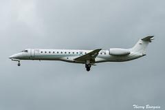 [CDG] HOP (Regourd Aviation) Embraer ERJ-145LU _ F-HRGD (thibou1) Tags: thierrybourgain cdg lfpg spotting aircraft airplane nikon d810 tamron sigma hop regourdaviation embraer erj145 erj145lu landing fhrgd airfrance