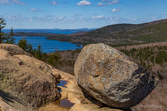 Bubble Rock (dan@propeakphotography.com (out shooting on locati) Tags: acadianationalpark america blue blueskies bubblerock bubblerockoverlook cadillacmountain clouds eaglelake famousplace forest frenchmanbay green internationallandmark landscape maine mountdesertisland nps nature newengland northamerica rocks southbubble spring touristattraction traveldestination travelandtourism trees usa unitedstates water mountdesert unitedstatesofamerica pinnaclephotography 150faves