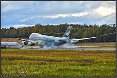 "B-LJA Cathay Pacific Cargo ""Hong Kong Trader"" (Bob Garrard) Tags: blja cathay pacific cargo hongkongtrader boeing 747 everts dc6 anc panc"