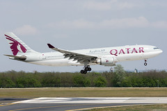 A7-ACI (Andras Regos) Tags: aviation aircraft plane fly airport bud lhbp spotter spotting landing qatar qatarairways airbus a330 a332