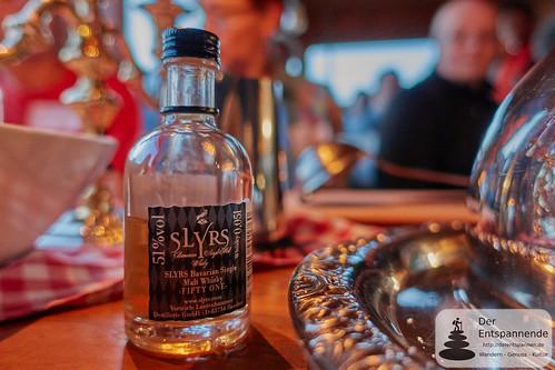 Whisky Fifty One für Flambierten Christinenstollen von Wolfgang von der Heide in der Diemelsteighütte