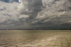 Waarde (Omroep Zeeland) Tags: westerschelde wolkenlucht waarde scheepvaart zeiljacht