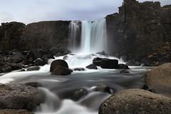 Öxararfoss (erichudson78) Tags: island islande iceland chutedeau cascade waterfall longexposure poselongue öxararfoss canoneos6d filtrend river landscape paysage