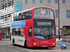 BU53UNR - St. Paul's Street, Walsall, October 2015. (Iveco 59-12) Tags: nationalexpresswestmidlands nxwm westmidlandstravel travelwestmidlands volvob7tl wrighteclipsegemini wrightbus bu53unr 4534