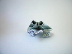 Toad - Ashimura Shunichi (Rui.Roda) Tags: origami papiroflexia papierfalten rã sapo grenouille frog toad ashimura shunichi