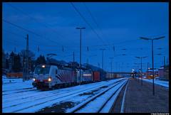 Lokomotion 193 774, Arnoldstein 10-02-2018 (Henk Zwoferink) Tags: arnoldstein kärnten austria henk zwoferink lokomotion lomo lm rtc railtractioncompany siemens vectron 193 774 193774 ekol